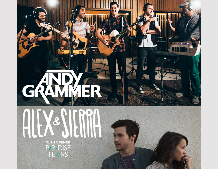 ANDY GRAMMER & ALEX & SIERRA – Sold Out!